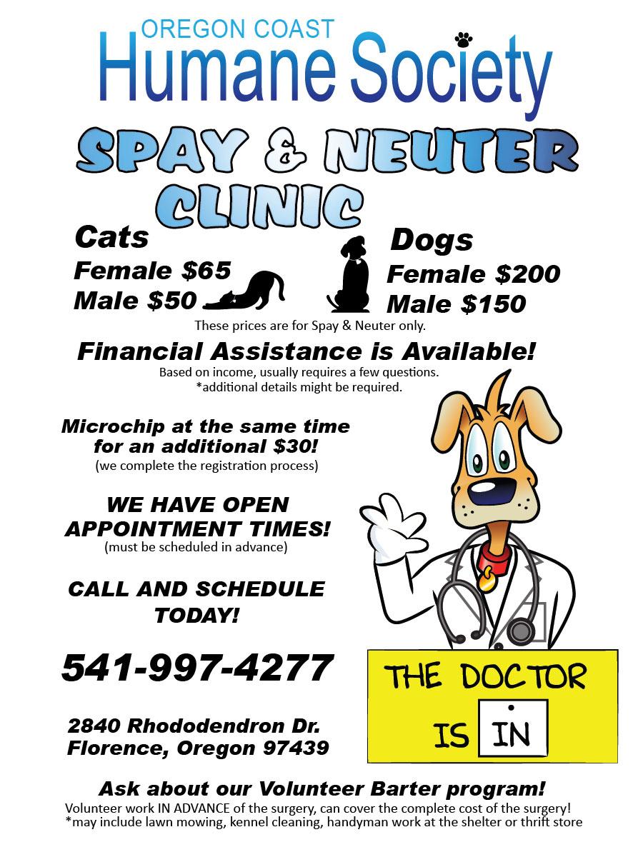 OCHS Spay & Neuter Clinic