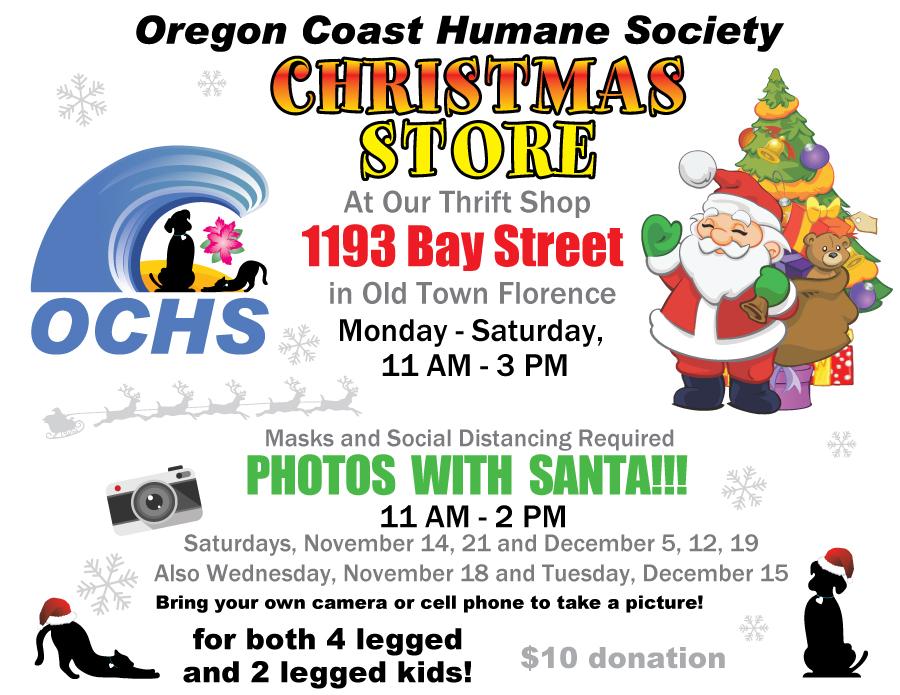 OCHS Christmas Store!!!